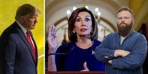 Nancy Pelosi förklarade på tisdagen att hon inleder processen att ställa Donald Trump inför riksrätt i USA.