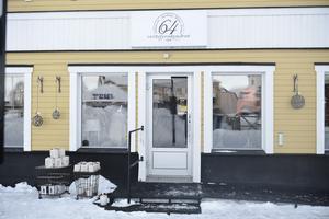 Den nya lokalen ligger mitt på torget i Sveg.