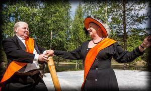 Christina Sörlén och Ingrid Eldeklint briljerar i rollerna som Theseus och Hippolyta.