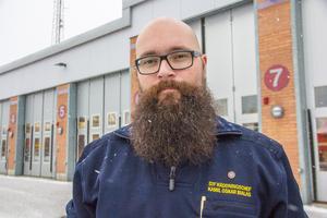 Kamil Oskar Bialas blev ny ställföreträdande räddningschef i Avesta i maj.