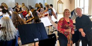 Nora kammarmusikfestival är ett tillfälle riktar sig till både stora och små. Festivalen invigs på lördag med en konsert av Hans Pålsson och Katarina Andreasson. Foto: Arkivbild NA Malin Flink / Linnea Holm (bilden är ett montage)