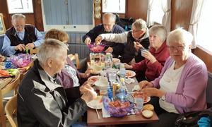 ABB-pensionärerna i Ludvika åkte på kryssning med ångfartyget Runn. Foto: Läsarbild