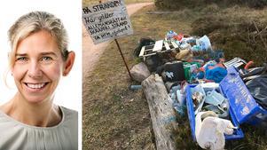 Nedskräpningen av världshaven är en av våra största miljökatastrofer. Men tillsammans kan vi rädda haven från skräpet. Under Nordiska kusträddardagen plockade 48 000 personer tillsammans 170 ton skräp från våra stränder. Det visar att det finns ett rekordstort engagemang för haven, skriver Håll Sverige Rents vd Johanna Ragnartz. /FOTO: Cilla Eklund/Ren Kust
