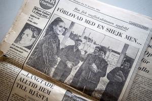 Det skrevs om Ragnhild Sandin i många olika tidningar. Aftonbladet bland annat.
