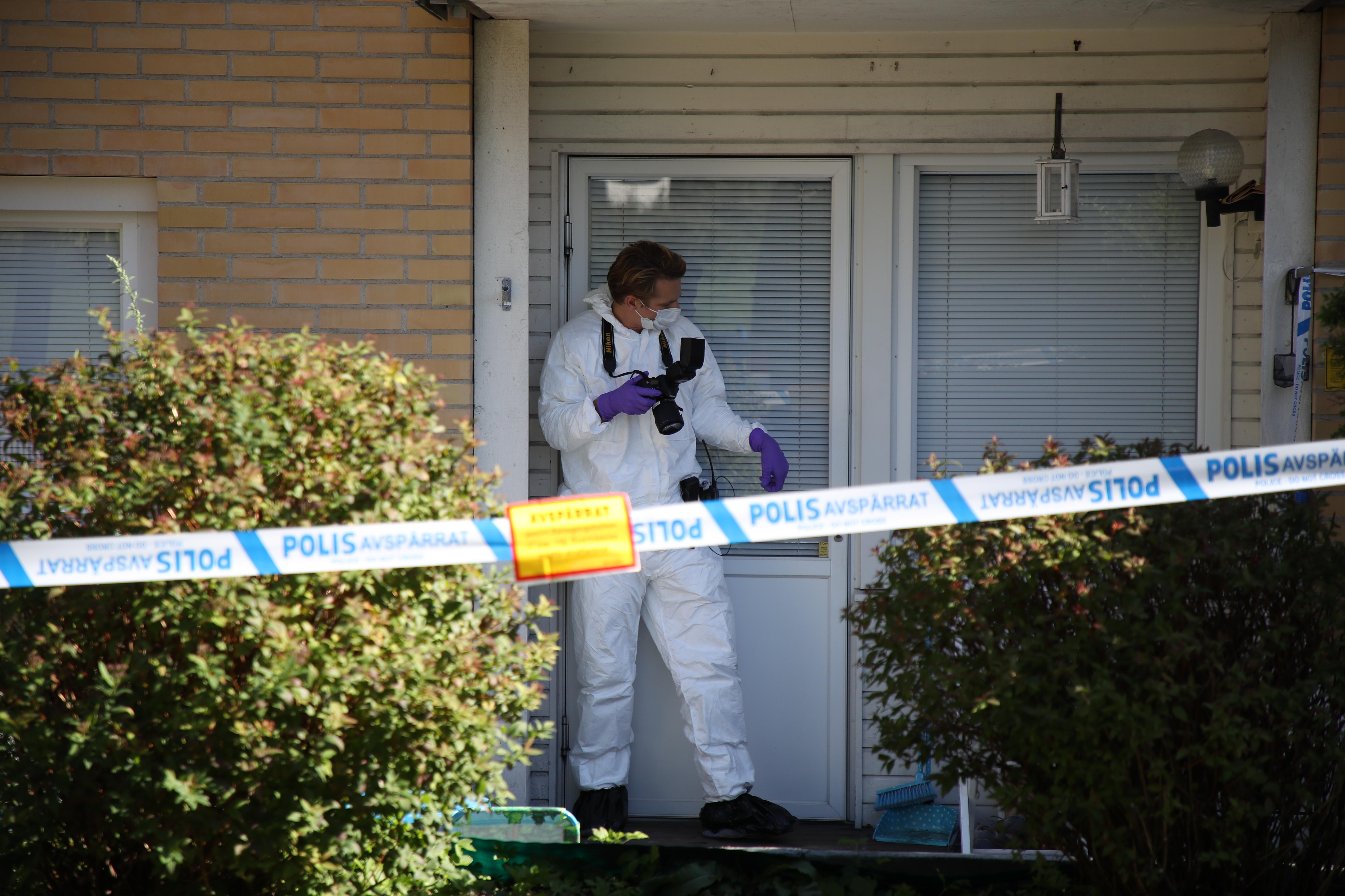 Man och kvinna doda i olycka i goteborg
