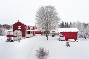 Denna villa i Linghed i Falu kommun var det sjunde mest klickade huset i Dalarna under förra veckan, på Hemnet. Foto: Kristofer Skog, husfoto