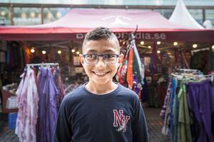 Tioåriga Stavro Shaba har varit på festivalen jättejättemånga gånger.