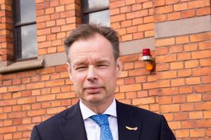 Fredrik Persson, ordförande i Svenskt Näringsliv, är emot de skärpta reglerna.