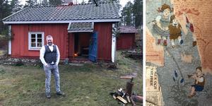 Anders Lindberg har alltid varit intresserad av torpen i trakten Nu äger han ett i Dragkärret strax utanför Varmsätra.