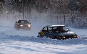 Den minst sagt milda vintern gör att rallytävlingen Masnatta måste ställas in. Foto: Berndt Norberg