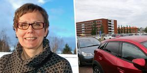 Lena Freijs, områdessamordnare Mora lasarett har inte fått in några aktuella problem kring parkeringssituationen vid lasarettet.