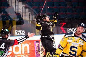 Andreas Hjelm avgjorde det senaste derbyt mellan AIK och SSK. Foto: Dennis Ylikangas / Bildbyrån
