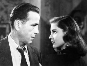 Humphrey Bogart axlade rollen som Raymond Chandlers privatdetektiv Philip Marlowe i Howard Hawks film