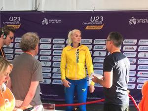 Sporten kollar läget med Louise Ekman efter hennes korta höjdfinal.