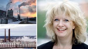 Ortvikenchefen Kristina Enander ska byta jobb. I november blir hon SCA:s affärsområdeschef för massa och därmed Östrand. Bilder: Arkiv