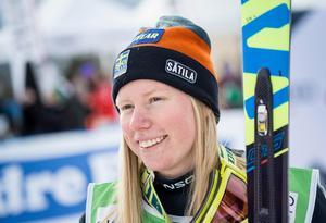 Sandra Näslund tog ytterligare en VC-seger. Bild: TT