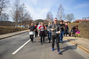 Estet-elever från Slottegymnasiet gick i täten, efter Ola Hertzberg.