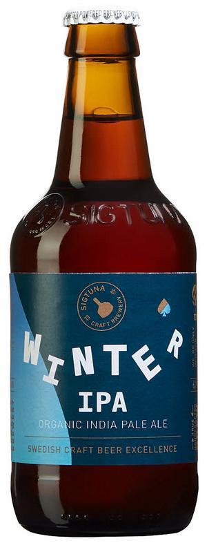 Sigtuna Winter IPA Organic.