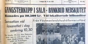 Den 19 juni 1936 sköts Elon Pettersson, samma dag stod det i SA som då kom ut på kvällen.
