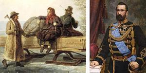Den populäre kung Karl XV köpte tavlan av konstnären Nils Andersson, och testamenterade den efter sin död 1872 till Nationalmuseum.