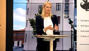 Alicja Kapica (M), oppositionsråd i Sundsvall.