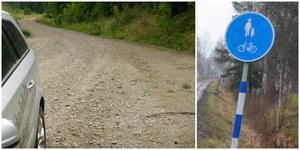Under nästa år ska det bli möjligt att gå och cykla på gamla banvallen från Sandtorp till Taxinge.