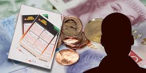 25 satsade kronor på Eurojackpot hos Ica Nära i Sellnäs gav den unge Borlängebon en  drömvinst på hela 6510372 kronor.    Bilden är ett montage.