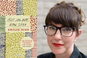 I sex essäer skriver Emelie Pine om de händelser som har format hennes liv. Foto: Ruth Connolly