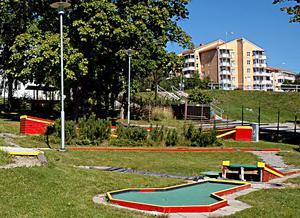 Kraftsamling Fränsta föreslås få 30 000 kronor för att fixa till minigolfbanan och lite annat i Fränstaparken.