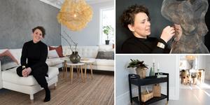 Formgivaren Johanna Forsberg har renoverat sitt drömhem i Grundsunda, norr om Örnsköldsvik.