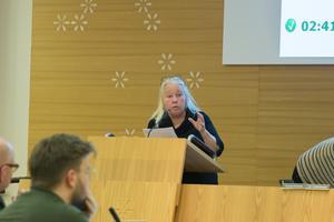 """""""Jag tycker att Södertälje ska göra en markering för demokratins skull"""" sa Marita Lärnestad (M)."""