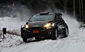 Johnny Andersson i sin Ford Fiesta R5. Foto: Privat
