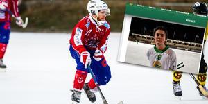 Rasmus Lindqvist och Gustav Mattsson är klara för spel med Tillberga kommande säsong. Foto: Oliver Åbonde/Skärmdump från Hammarby Bandy