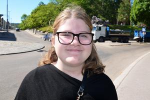 Anna Sundin, 14, studerande, Matfors