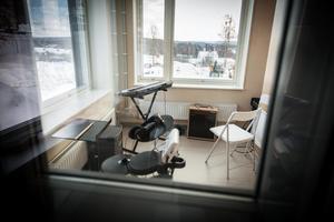 Musiksalen har också små, ljudisolerade rum.