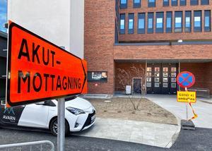 Akutmottagningen vid Universitetsjukhuset i Örebro.