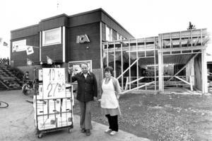 ÖP träffade även Roland och Runa Ohlsson som byggde ut sin Ica-butik 1981.