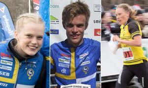 Svenska mästare: Vilma von Krusenstierna, Isac von Krusenstierna, Tove Alexandersson.