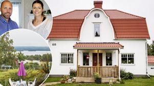 Familjen Wiklund/Magnusson har bott i sitt hus i  Söråker cirka ett år.
