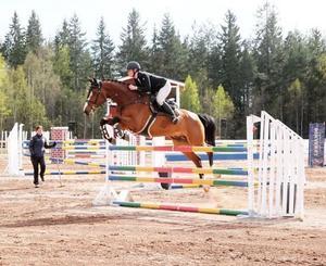 Foto: Insänt. På bild – Julia Johansson med hästen Braveheart.