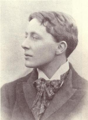 Poeten och den katolske prästen John Gray tros ha varit Oscar Wildes inspiration till sin berömda romankaraktär Dorian Gray. Foto: Okänd