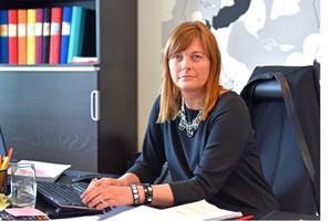 Kristina Svedberg har gått från förstärkningsdomare till advokatutbildning på Abersten.Bild: Hasse Tavér