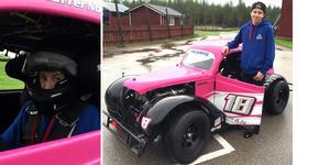 Kristoffer Norling körde hem en fin andraplats i säsongens första deltävling i Legends racing.