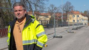Magnus Andersson, produktionschef, har ett spännande jobb framför sig.
