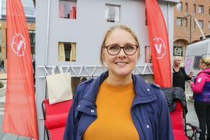 Lotta Blomberg. snart fd gruppledare för Vänsterpartiet i Östersund.