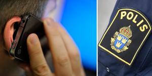 Kvinnan har polisanmält att mannen ringt till henne drygt 30 gånger.