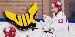 Viktor Hertzberg är klar för spel i Västerås. Bild: Matilda Ahlberg/Bildbyrån