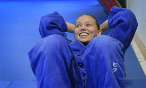 Anna Bernholm är en av 15 idrottare som redan nu kan boka resan till Tokyo. Foto: Anders Wiklund/TT