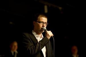 Jonas Öberg, musiklärare vid Mellansels folkhögskola. Arkivbild