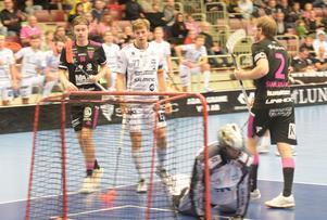 Emil Ruud spelade fram Johan Samuelsson till 7–1 i numerärt överläge.